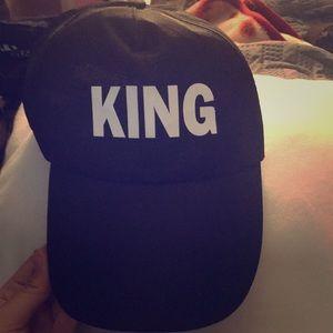 Black king hat